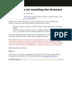 DIR-300 HW B1 Firmware Install Guide