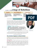 4.1 the Stirrings of Rebellion