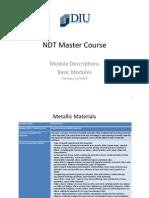 Modul Description NDT(1)