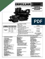 Especificaciones de Motor Cat d379, d398 y d399