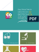 Shorten trial startup. Lower your costs. Recruit more patients, faster. All in Colombia!