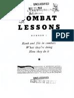Combat Lessons 1
