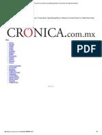 La Crónica de Hoy _ México Se Plantea Participar en Misiones de Transporte Espacial