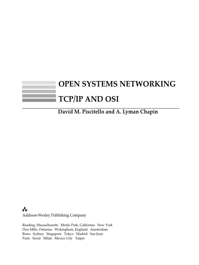 Open Sistems Networking TCP/IP vs OSI   Osi Model ...