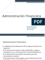 ADMON FINANCIERA