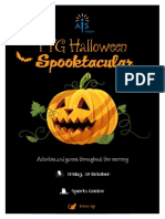halloween spooktacular  poster 2015
