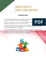 Direccion y Dinamica de Grupo