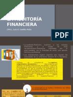 La Auditoria Financiera