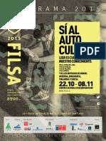 Programa Cultural FILSA 2015