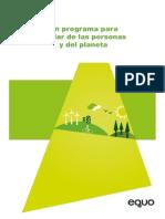 Resumen Ejecutivo Programa EQUO 2015