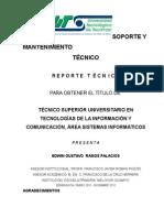 Reporte Tecnico uttec