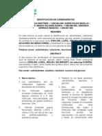 laboratorio Identificación de Carbohidratos