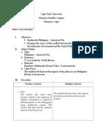 Timeline of Philippine - American War