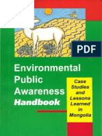 Environmental Public Awareness Handbook