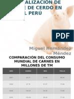 Comercialización de La Carne de Cerdo en El