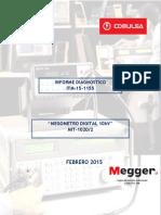 ITM 15-1155 Megometro 10KV MIT-1020