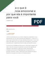 Entenda o Que é Inteligência Emocional e Por Que Ela é Importante Para Você