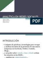 Analitica de las redes sociales