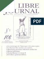 Libre Journal de la France Courtoise N°106