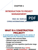 Chapter 1 Introduction to Project Management