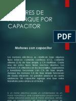 Motores de Arranque Por Capacitor