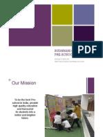 Budhrani Group Pre-school Project Analysis