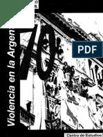 Los 70-Violencia en La Argentina-Circulo Militar