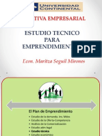 Iniciat Emp- 2013-II Estudio Tecnico i y II Parte (Semana 12)