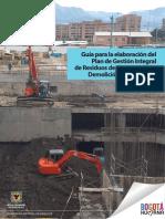 Guía para la elaboración del plan de gestión integral de residuos de construcción y demolición (RCD) en obra.pdf