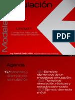 1.2 Modelo y Tiempo de Simulación