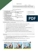 Control funciones y factores junto a lectura complementaria