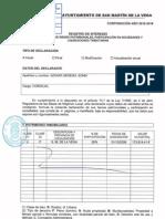 Declaración de bienes de Sonia Azuara Sereno