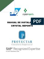 Manual de Instalación Crystal Reports