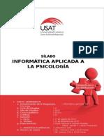 Sílabo Informatica Aplicada a La Psicología 2015 - II - Rolando Romero_Sandra Loaiza