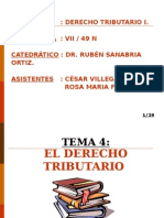 t.4 Derecho Tributario