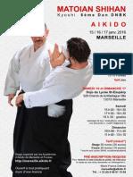01/2016 Aikido Seminar Marseille