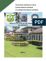 Contabilizacion de Instituciones Educativas Particulares
