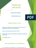 2. Los Medios de Comunicación (Temas 2, 3 y 4)