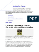 Manual Naturista Del Cancer Terapias de Qi Gong Maestro Wong Kiew Kit