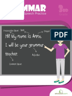 Grammar Parts Speech Practice Workbook