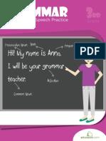 Grammar Parts Speech Practice Workbook