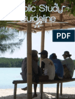 Public Study Guideline Booklet