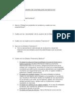 Cuestionario de Contabilidad de Negocios