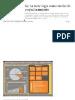 Cyberdemocracia_ La Tecnología Como Medio de Participación y Empoderamiento