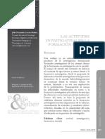 Actitudes Investigativas Praxis&Saber