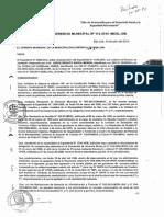 Resol. Gerencia Municipal Nº 113-2014