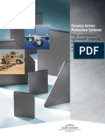 Advanced Ceramic Materials for Composite Armor Protection Systems General Literature