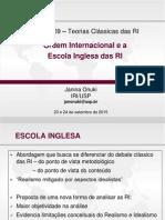 Escola Inglesa Setembro 2015