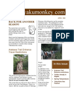 Yakushima Newsletter April 2010