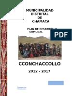 PLAN DE DESARROLLO COMUNAL CCONCHACCOLLO 2012 - 2017.docx